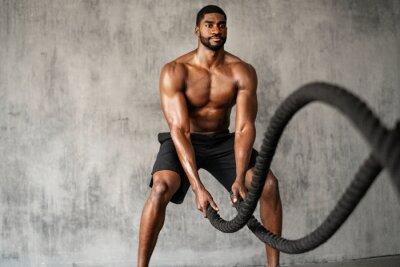 Bild Battle ropes exercise