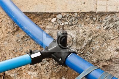 Kühlschrank Wasserleitung : Bauarbeiten verlegung einer neuen frisch wasserleitung