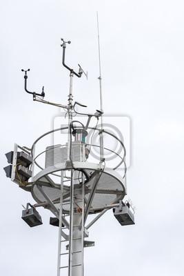 Beacon mit Wind-Messplatz, Travemünde