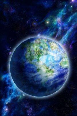 Bild Beautiful Earth is in space