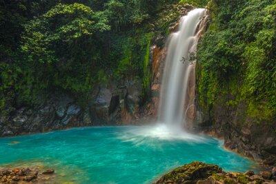 Bild Beautiful Rio Celeste Waterfall