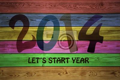 Beginnen wir Jahr