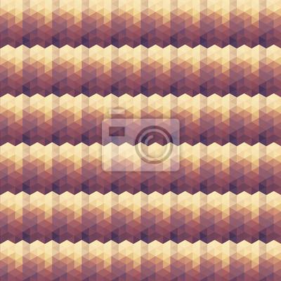 Beige Violet geometrische Muster.