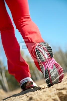 Beine der Läufer