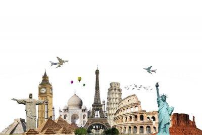 Bereisen Sie die Welt Denkmäler Konzept 6