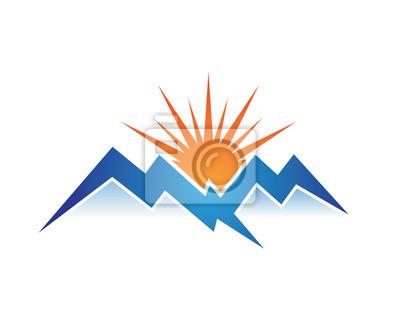 Bild Berg Logo