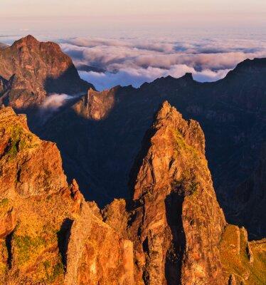 Bild Berge auf Madeira