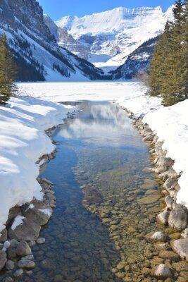 Bild Berge und Fluss