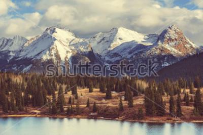 Bild Berglandschaft in Colorado Rocky Mountains, Colorado, Vereinigte Staaten.