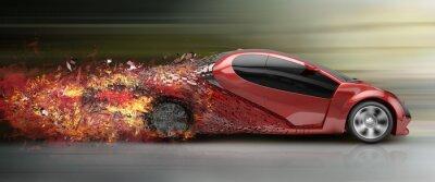 Bild Beschleunigung Auto Spreng