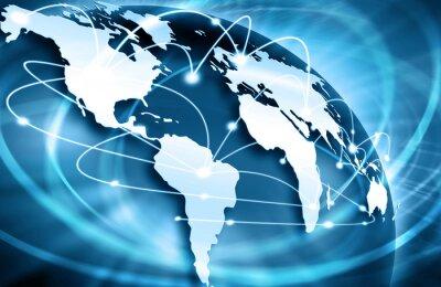 Bild Bestes Internet-Konzept des globalen Geschäfts von Konzepten Serie