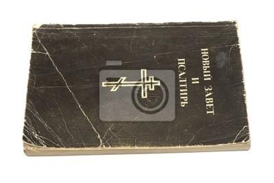 Bild Bibel ist auf einem weißen Hintergrund isoliert