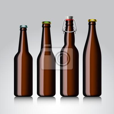 Bierflasche klare ohne Etikett
