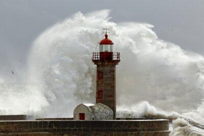 Bild Big stormy waves