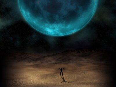 Bild Surreale Planeten