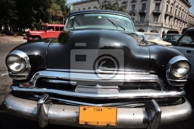 Bild von einem alten Auto in Kuba. Havana