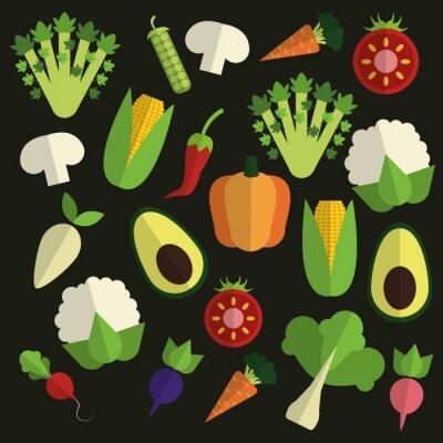Bild Bio-Lebensmittel-Design