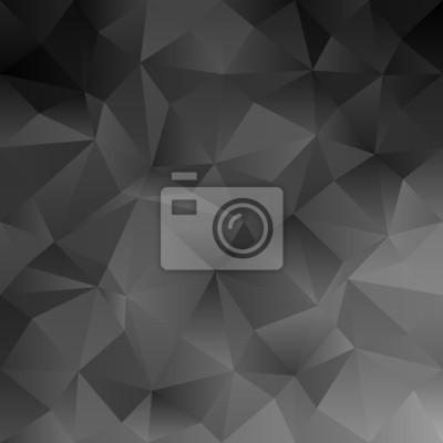 Black abstract unregelmäßiges Dreieck-Muster