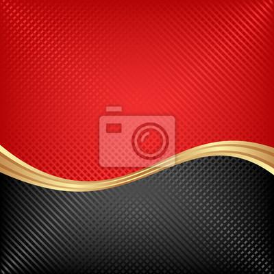 Bild black and red background