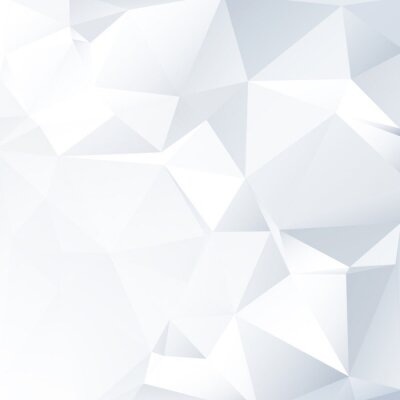 Bild Black and White Lowpoly Vector Background   EPS10 Design