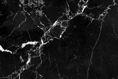 Bild black marble texture pattern with abstract line structure