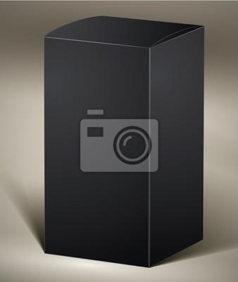 Black Pack für Design oder Produkt visualisieren.