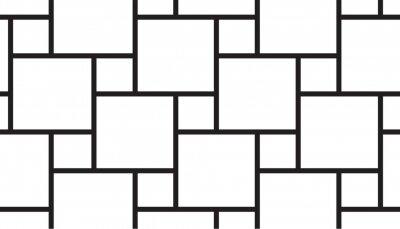 Bild Black square grid pattern vector