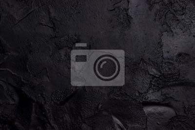 Bild Black textured concrete
