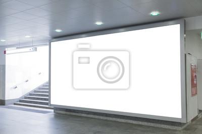 Bild Blank Billboard in Halle