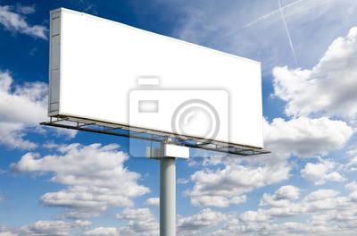 Bild Blank Billboard on blue sky