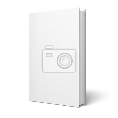 Bild Blank vertikale Buch-Vorlage.