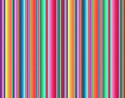 Bild Blanket stripes seamless vector pattern. Background for Cinco de Mayo party decor or ethnic mexican fabric pattern with colorful stripes. Serape gesign