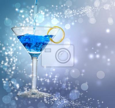 Blau Cocktail