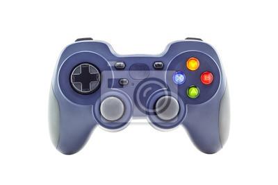 Bild Blau-Game-Controller