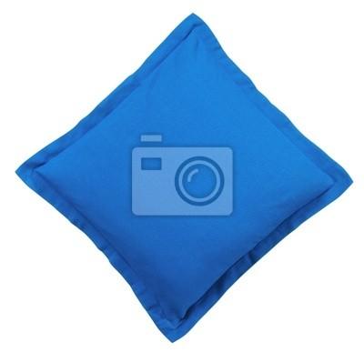 Bild Blau Kissen - isoliert