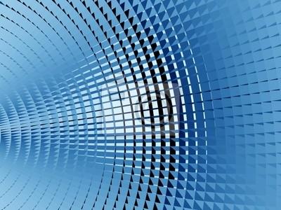 Blau Metallic Bildschirm