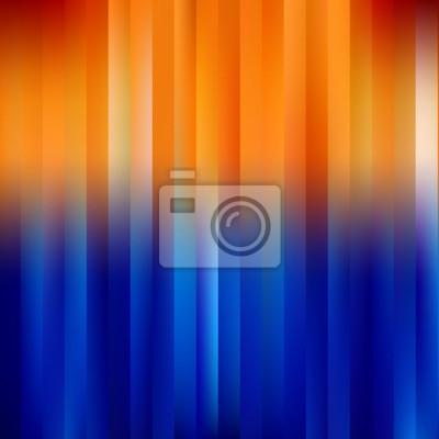 Blau-Orange Abstract gestreiften Hintergrund.