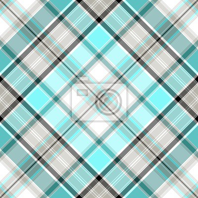 Blau Xadrez Pattern
