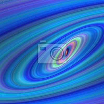 Blaue Ellipsengalaxieentwurfshintergrund