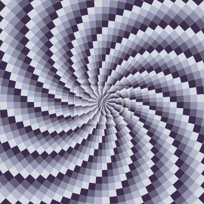 Blaue Spirale gemusterte Vektor Hintergrund