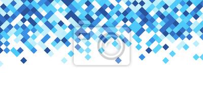Bild Blaue und weiße abstrakte Banner.