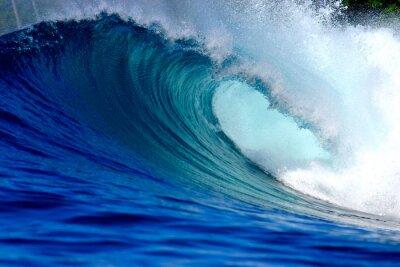 Bild Blauen Ozean Surfen Welle