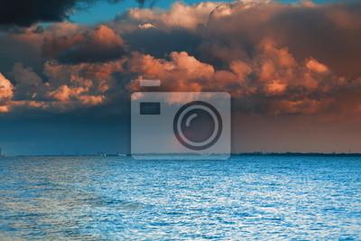 Bild Blaues Meer Himmel, Sturm, Sturm