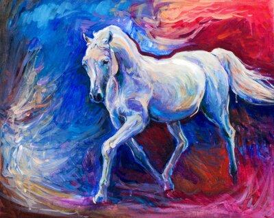 Bild Blaues Pferd