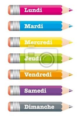 Bleistifte Woche
