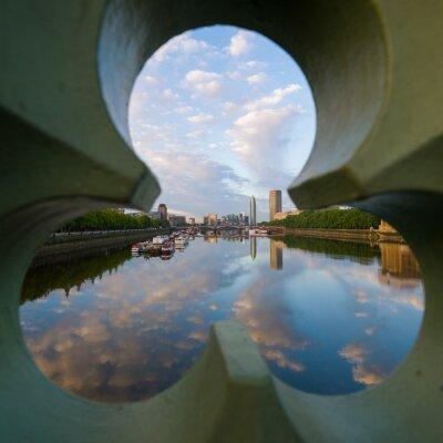 Bild Blick auf die Themse auf London