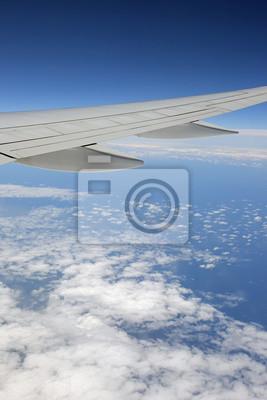 Blick Aus Einem Flugzeug Leinwandbilder Bilder Flugreisen