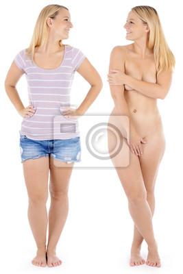 Bilder bekleidet nackt und 【ᐅᐅ】 Nackt