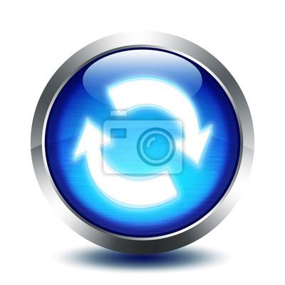 blu Glasknopf - Synchronisation