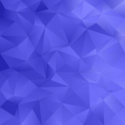 Blue abstract unregelmäßiges Dreieck-Muster